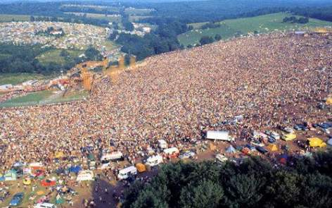 Woodstock 1969 (photographer unknown)