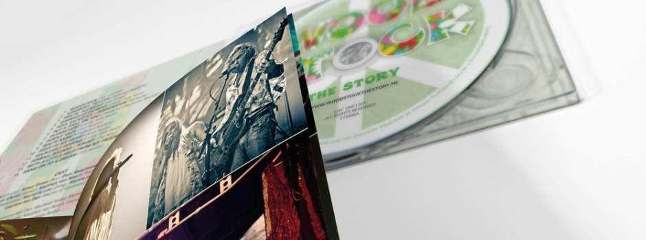 CD en Booklet ontwerp (mockup)