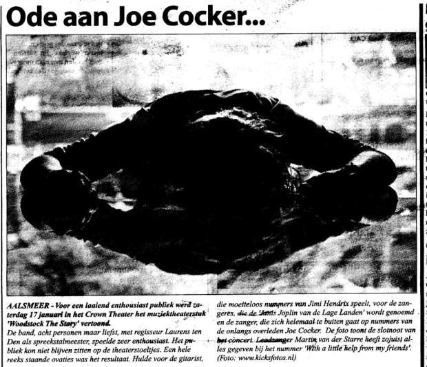 recensie Woodstock the Story in Witte Weekblad