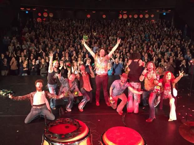 100e voorstelling Wilminktheater Enschede Woodstock the Story